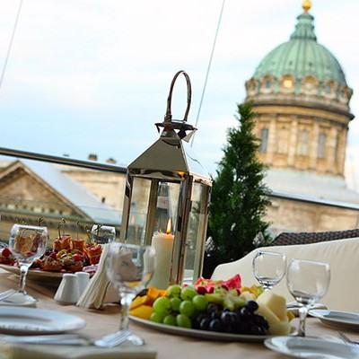 Ресторан Терраса, Казанская ул., д. 3. Кухня: европейская, кавказская, японская
